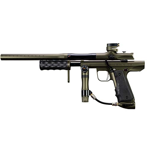 - Empire Sniper Pump Paintball Marker - Dust Olive/Polished Black w/Barrel Kit
