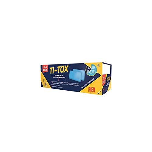 Ti-Tox tablet anti-mug – Bijvullen – RIEM