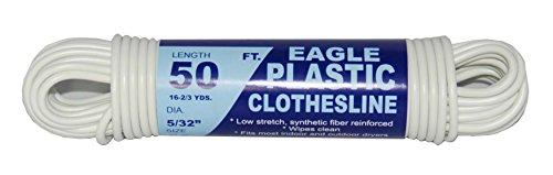 (TW Evans Cordage 775-050-03 Clothesline, 5/32 in Dia x 50 ft L )
