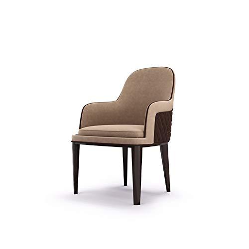 Silla de comedor, muebles de comedor de silla de lujo de alta gama para el hogar