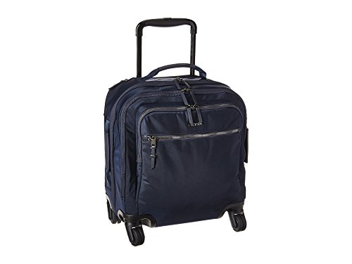 (TUMI - Voyageur Osona Compact Wheeled Carry-On Luggage - 16 Inch Rolling Suitcase for Women - Navy )