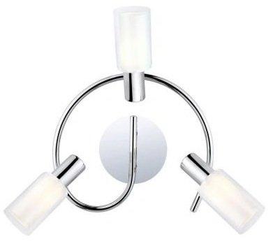 Eglo Mauricio 3-light Ceiling Chrome Fixture Track Lighting