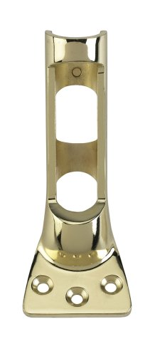 (Valley Forge, Flag Pole Bracket, Brass Plated, 1', 1-Position, Holds Standard 1' Flag Poles)
