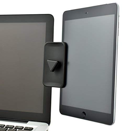 DuoScreen Laptop Dual Monitor Display Mount for iPad Tablet