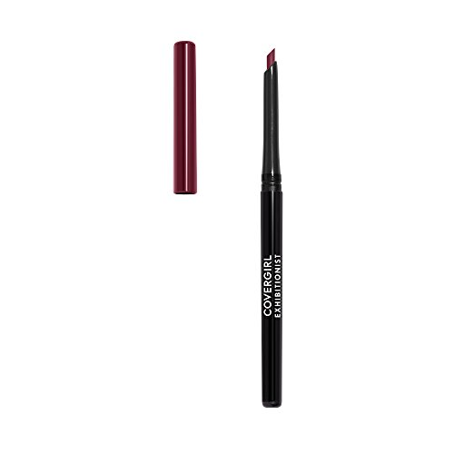 Covergirl Exhibitionist Lip Liner Uncarded, Garnet Red 225, 0.012 Ounce