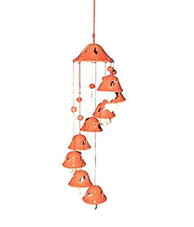 Aroma Decor Melodious Sound Ceramic Wind Chimes Decorative Items