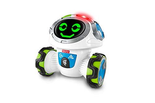 Fisher-Price Movi Superrobot, juguete educativo para nino +3 anos (Mattel FPD04)