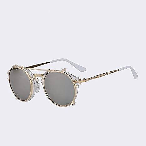 0f7150bd4f24c TIANLIANG04 Clip sur Les Hommes Femmes Lunettes Steampunk Vintage Fashion Marque  Dessin Retour Lunettes Fashion Lunettes Oculos