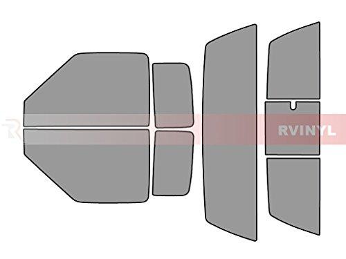 Rtint Window Tint Kit for Chevrolet S-10 1994-2003 (2 Door) - Complete Kit - 50%