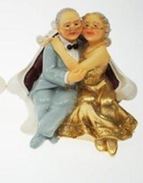 Amazonde Brautpaar Hochzeitspaar Goldhochzeit Goldene