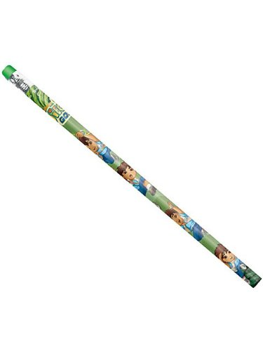 Amscan Cool Diego's Biggest Rescue Pencil Birthday Party Favor (12 Piece), 7-3/4
