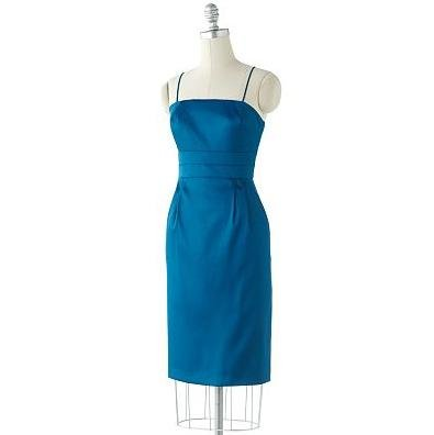 AB Studio Pleated Empire Dress, Size 4, Teal for sale  Delivered anywhere in USA