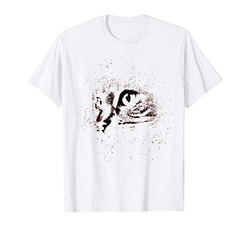 Tabby Cat Big Face Animal Shirt