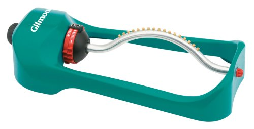 Gilmour 7800PM Oscillating Sprinkler with Metal Spray Tube