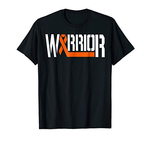 leukemia awareness orange warrior t shirt