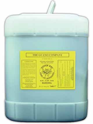 Guano Liquid, .01-.10-.01, 5 Gallons by Budswel