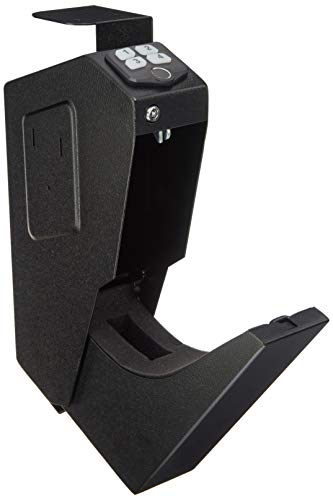 (AmazonBasics Mounted Firearm Safety Device With Biometric Fingerprint Lock)