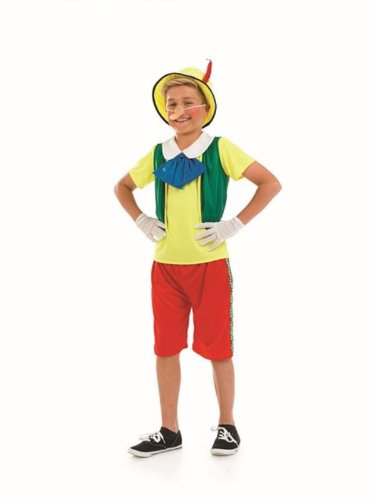 [Pinnochio Boys Childs Fancy Dress Costume - XL 148cms] (Childrens Fancy Dress Costumes Uk)