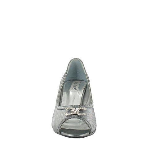 LEXUS - Zapatos con tacón mujer Gris - Metallic Grey