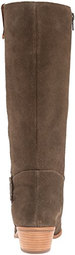 Jack Rogers Women's Sawyer Rain Boot, Olive Suede, 6 M US