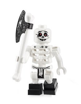 Bonezai (Skeleton) - LEGO Ninjago Minifigure