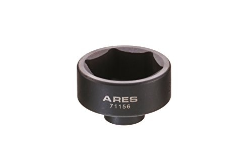 ARES 71156 | 36mm Low Profile Fuel Filter Socket | Low Profile Design for Easy Access | Chrome Vanadium Steel with Manganese Phosphate Coating to Resist Rust and Corrosion