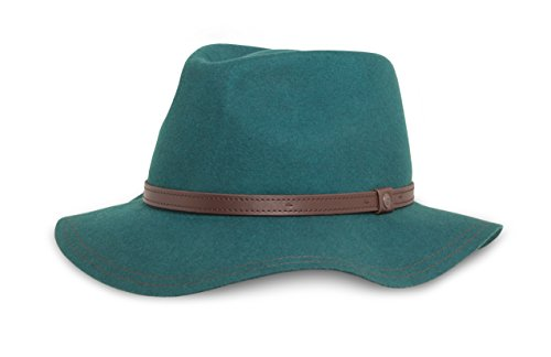 2016 Ladys Wool Felt - Sunday Afternoons Women's Tessa Hat, Emerald, One Size