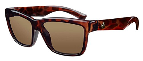 Ryders Empress R855-003 Polarized Wayfarer Sunglasses, Brown, 55 - Sunglasses Bugaboos