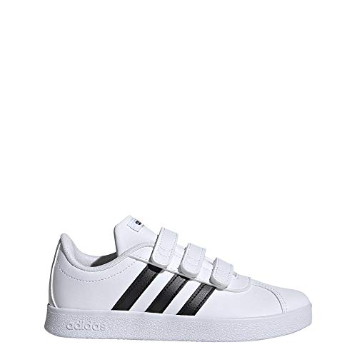 adidas Neo Kids Shoes Infants Running Sneakers Casual VL Court DB1837 (US 1) White