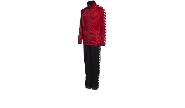 Hummel BEE - Chándal para hombre (poliéster) rojo true red/black ...