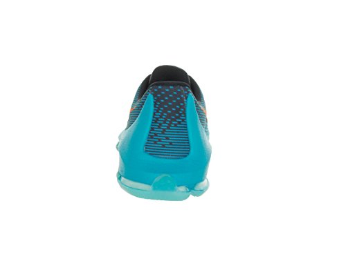 Nike Youth KD 8 Basketballschuh Blaue Lagune / Bright Citrus / Schwarz