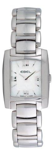 Ebel Women's 9976M23/94500 Brasilia Mother-Of-Pearl Roman Dial Watch
