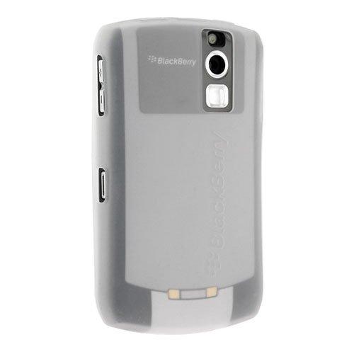 Blackberry Rubber Skin Case for Blackberry 8300 Curve Series - White
