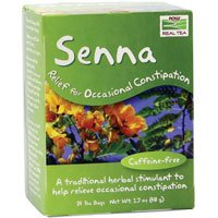 Senna Tea, 24 pk by Now Foods (Pack of 4)