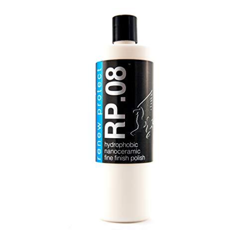 Renew Protect : : RP.08 (Pure) - Ceramic Infused Fine-Finish Polish/Gaze, High Gloss, 30% Titanium + Quartz Infused Nano-Ceramics, 16oz + Free GLOZ Sample