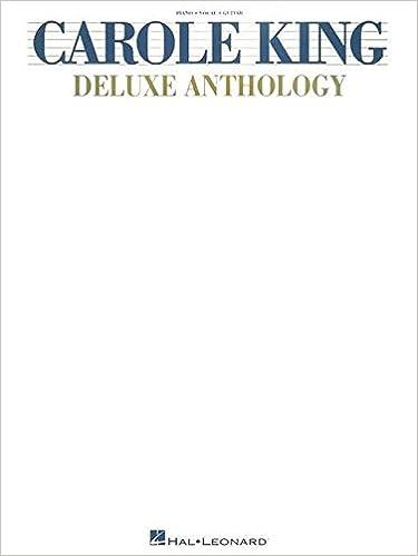 Amazon The Carole King Deluxe Anthology Pianovocalguitar