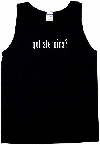 Got Steroids Men's Tee Shirt Medium-Black Tank Top
