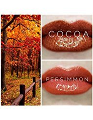 LIPSENSE FALL COLOR BUNDLE 4 PCS 2 COLORS 1 COCOA 1 PERSIMMON 1 GLOSSY GLOSS 1 REMOVER