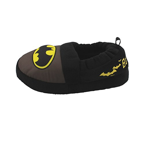 Image of Batman Superhero Boys Aline Slippers (11-12 M US Little Kid, Black)