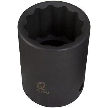 Sunex 322z 3//8 Drive 11//16 12-Point SAE Standard Impact Socket