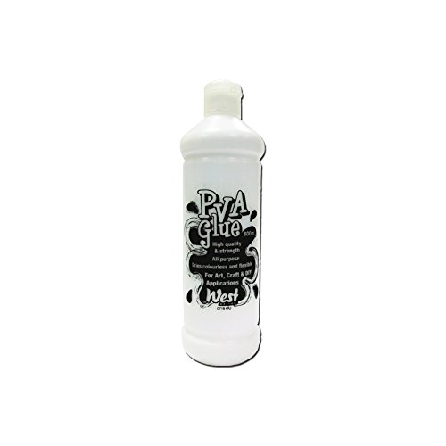 West Design-600 ml, alta qualità e resistenza di colla vinilica RS538219