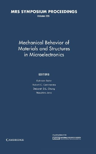 Mechanical Behavior of Materials and Structures in Microelectronics: Volume 226 (MRS Proceedings)