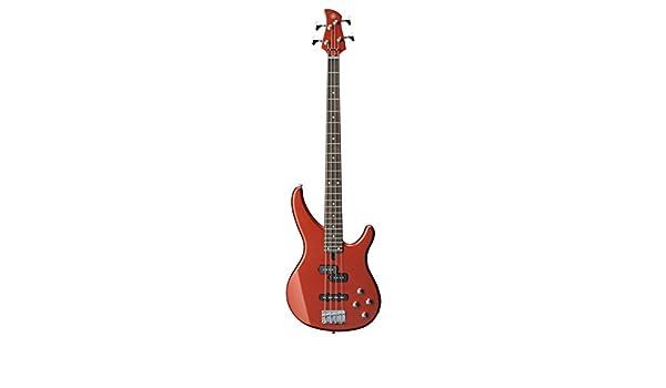 Yamaha TRBX204 Electric guitar Sólido 4strings Rojo: Amazon.es: Electrónica