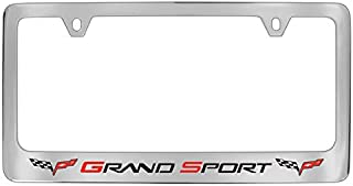 product image for Chevrolet Corvette C6 Chrome Metal License Plate Frame Holder