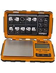 (TruWeigh TUFF-Weigh Digital Mini Pocket Scale 100g x 0.01g Orange and Black )