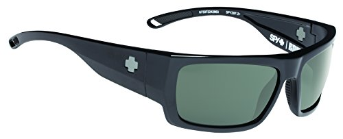 Spy Optic Rover Square Sunglasses, Black Ansi/Happy Gray/Green, 1.5 - Sunglasses Ansi Z87.1