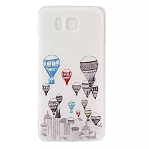 ZL Graphic/Special Design TPU Back Cover for Samsung Galaxy Alpha