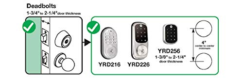 Yale Security Yale Real Living Yrd216zw2619 Assure Lock