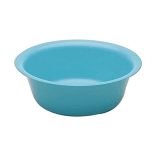 Medegen Medical Products 00100 Wash Basins, Sponge, Round, 14'' x 4.6'' Size, 6.6 L Capacity, Blue (Pack of 12) by Medegen Medical (Image #1)