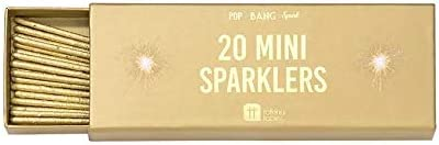 Ayush Gold Sparkler Candles Pack of 8